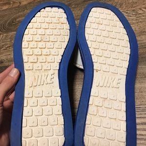Vintage 80s Made In Taiwan Nike Slides Sandals XL
